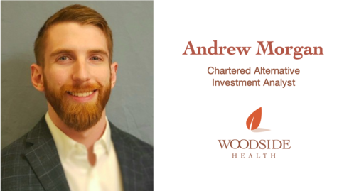 Asset Management Analyst Andrew Morgan Earns CAIA Designation, Adding to Woodside's Knowledge Base